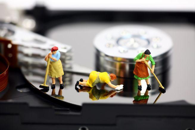 pulizia hard disk
