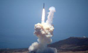 Sistema di difesa contro missile ICBM