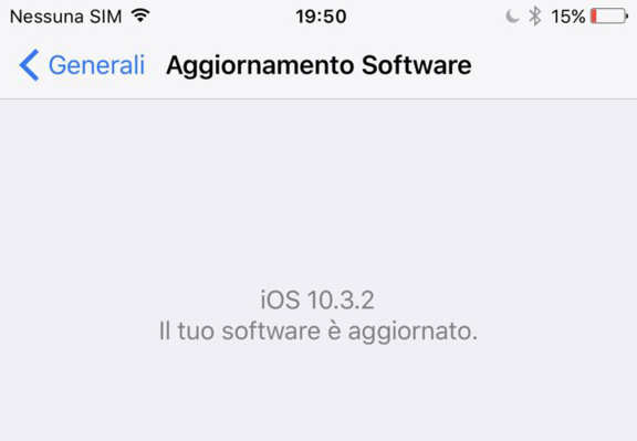 IOS 10.3.2 aggiornamento per iPhone e iPad compatibili disponibile