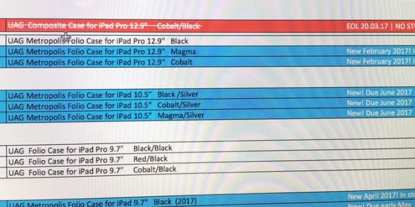 IPad Pro 10.5: dai case disponibilità a giugno?