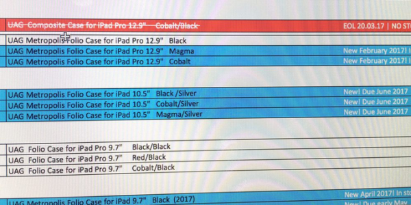 Apple lancerà l'iPad Pro da 10,5 pollici a Giugno?