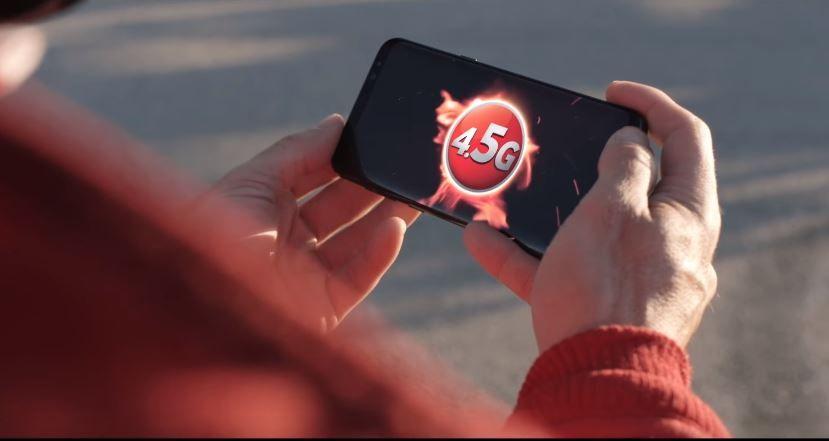 Vodafone dedica una campagna alla nuova rete 4.5G