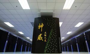 Supercomputer Sunway TiahuLight Cina