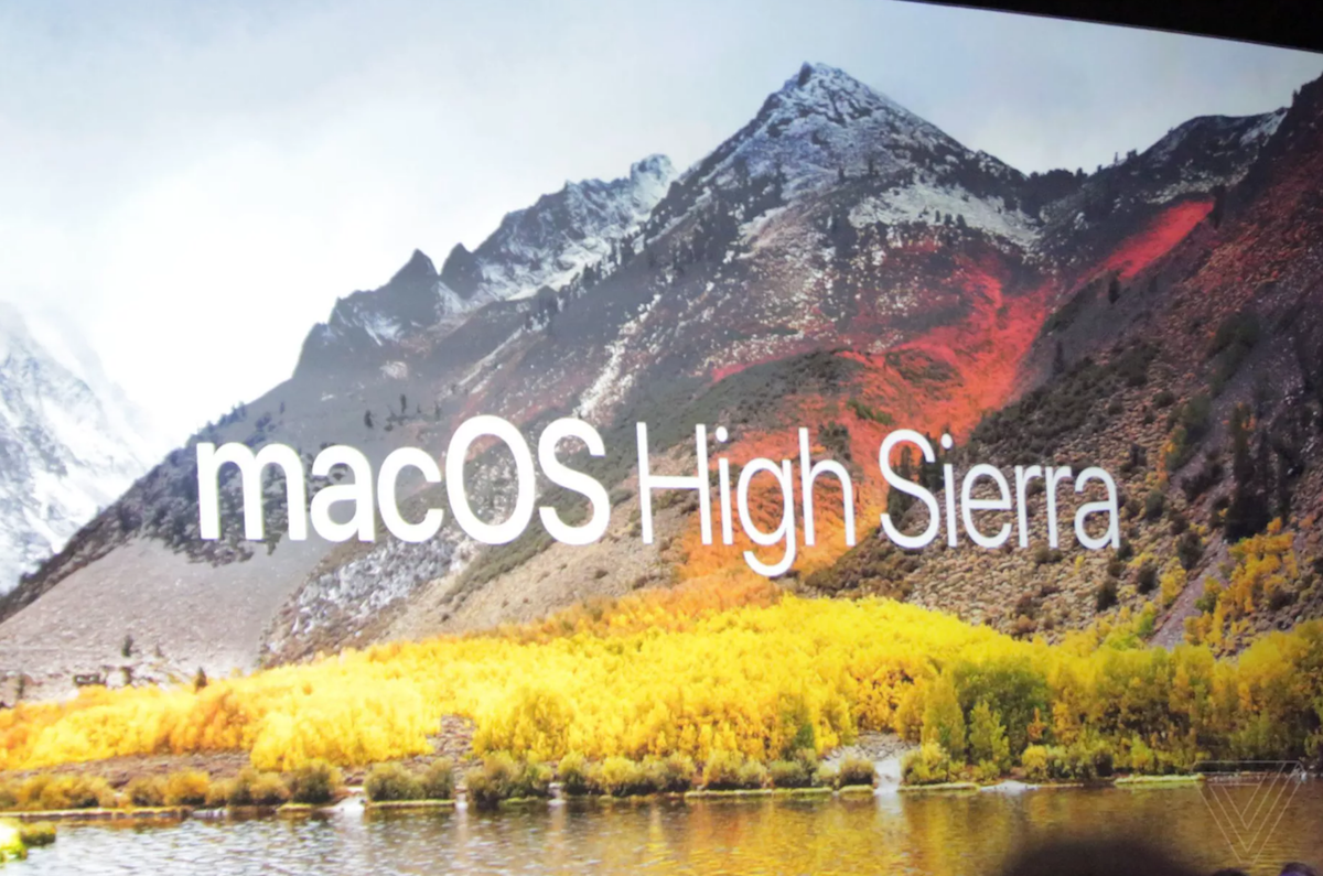 Apple annuncia MacOS 10.13 High Sierra