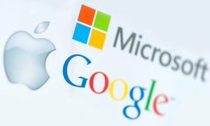 Apple, Microosft e Google