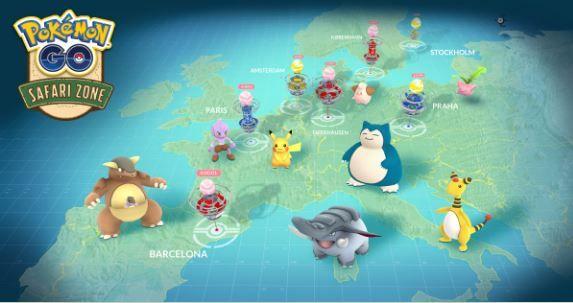 Pokémon Go Tour Europa