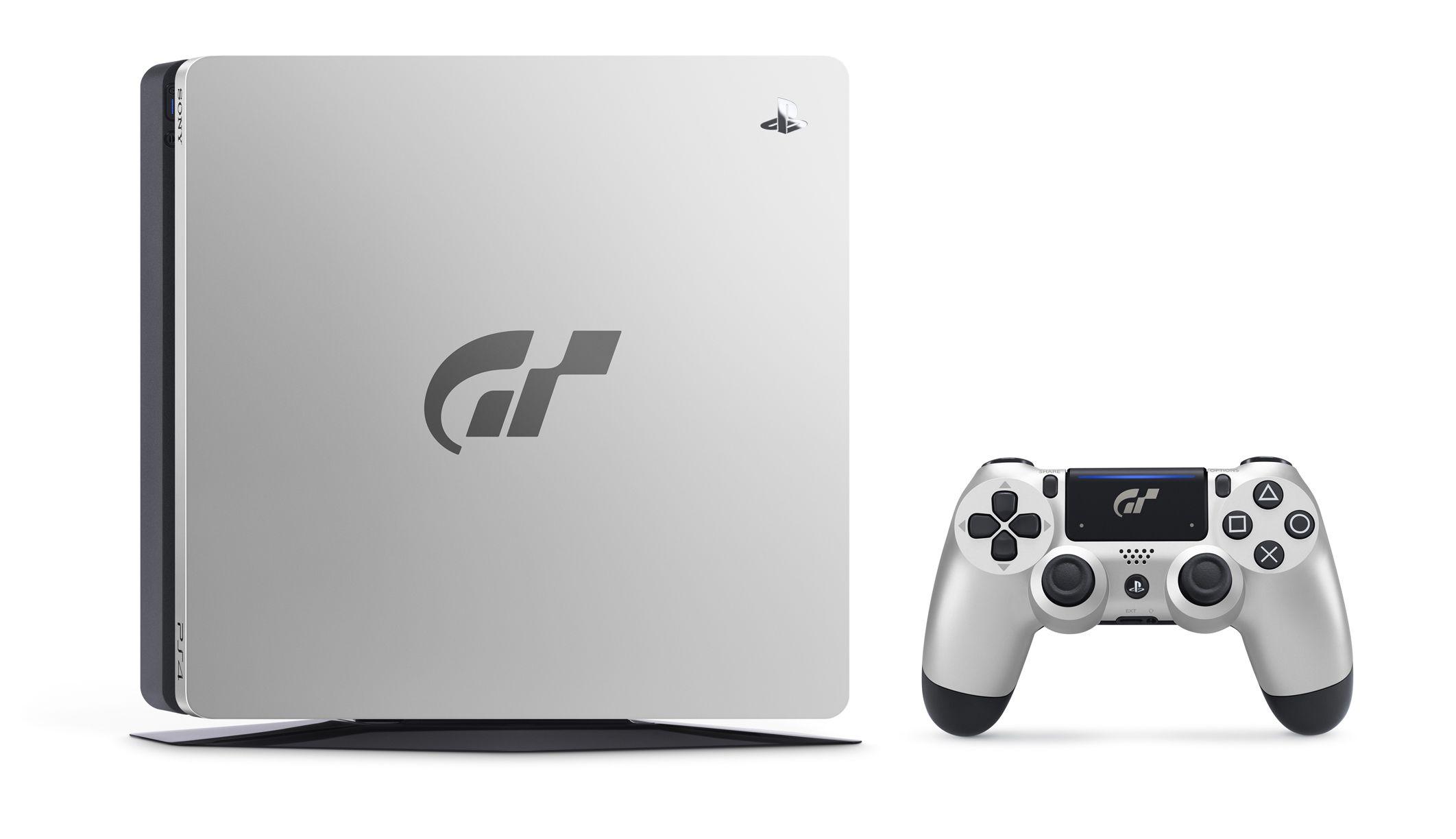 Sony rivela la PlayStation 4 Limited Edition dedicata a Gran Turismo Sport