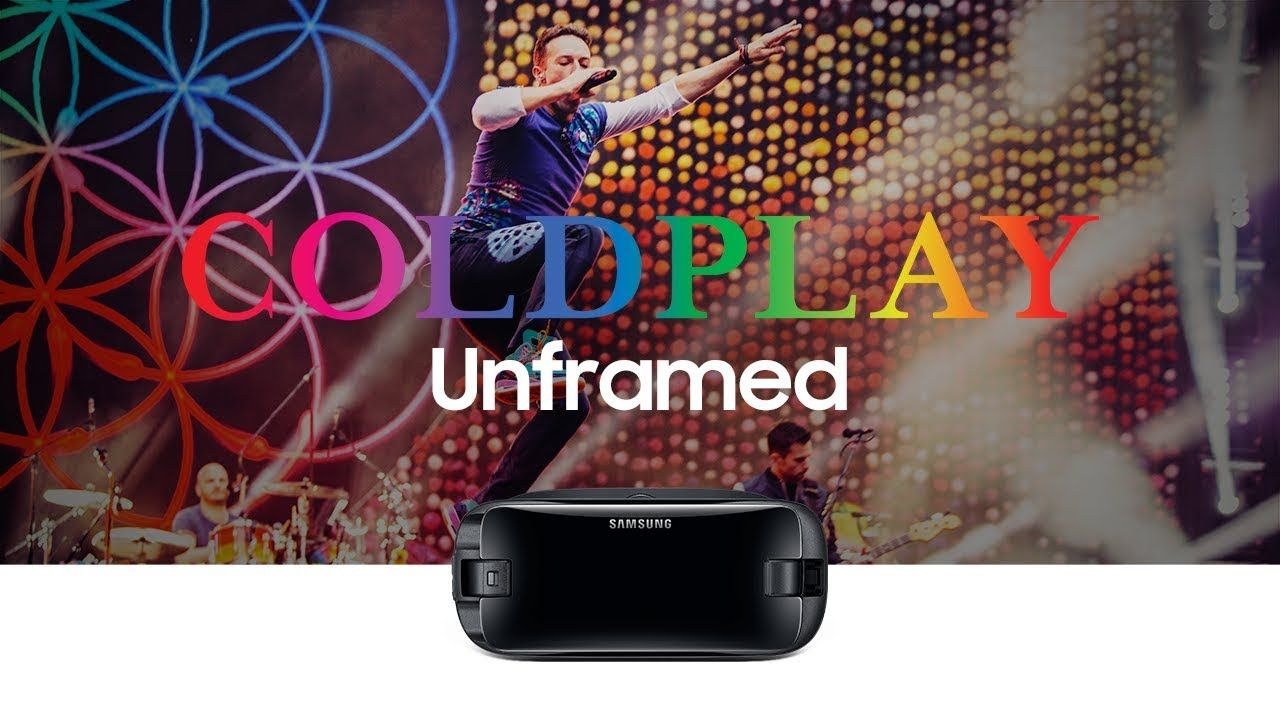 Samsung Gear VR Coldplay in concerto