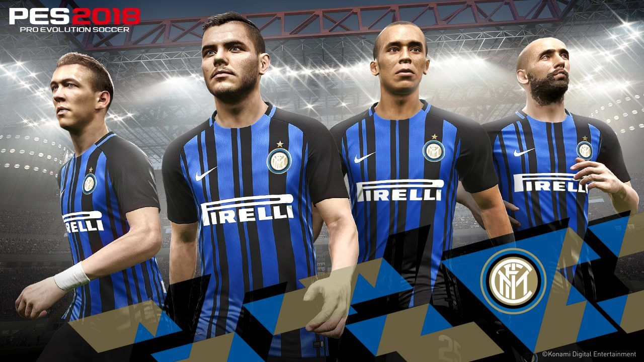 PES 2018 partnership Inter