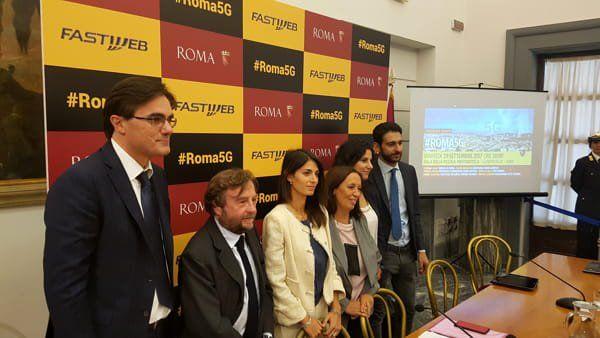 Roma e Fastweb insieme per il 5G