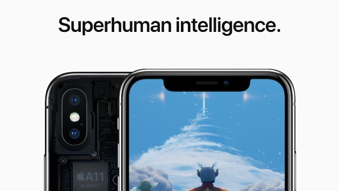 IPhone X potente come un MacBook Pro