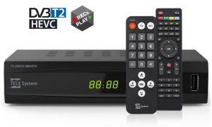 Digitale terrestre DVB-T2 e HEVC
