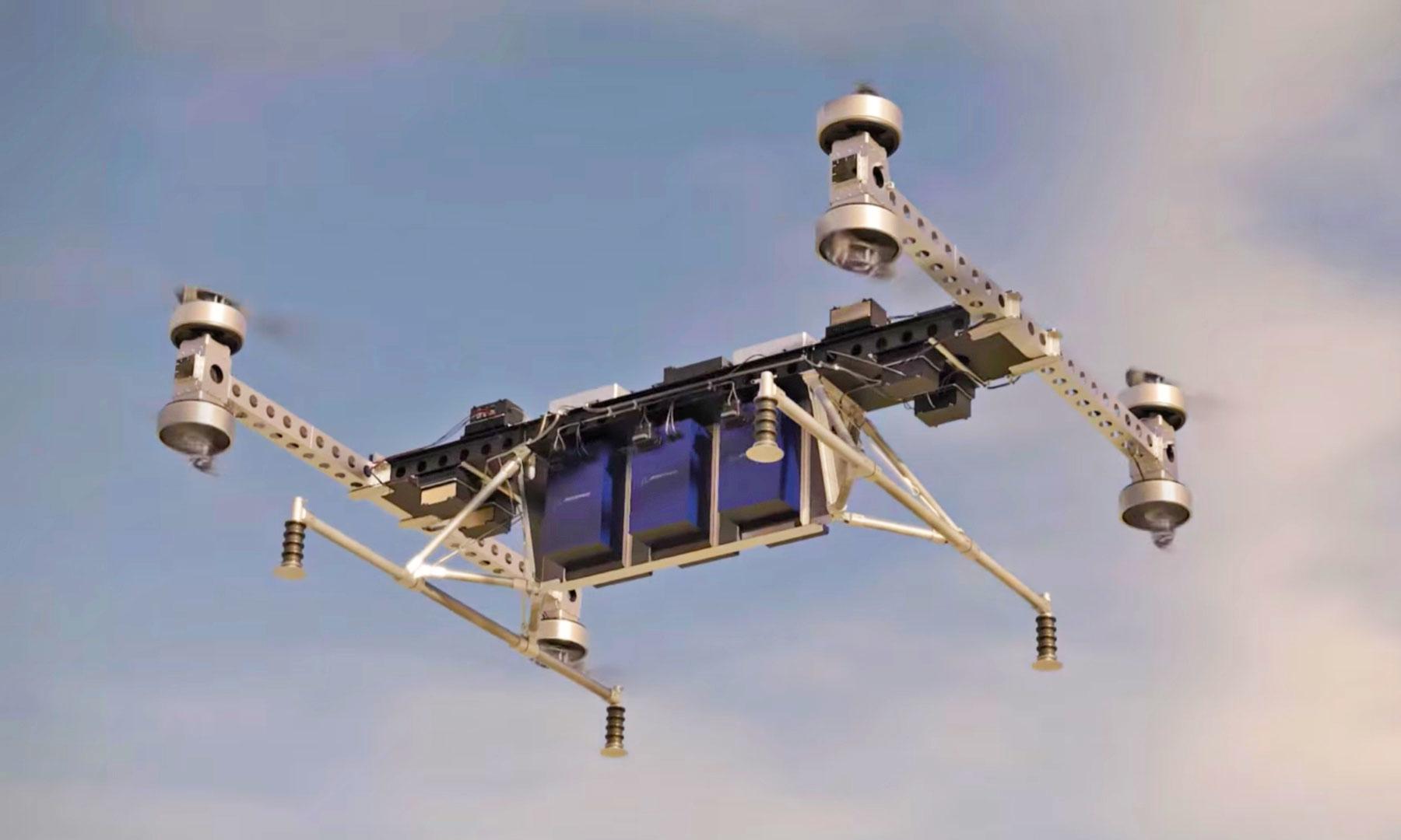 Boeing svela un drone gigante, può trasportare 225 kg