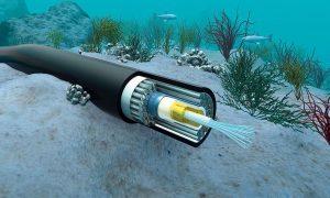 Cavo fibra ottica sottomarina
