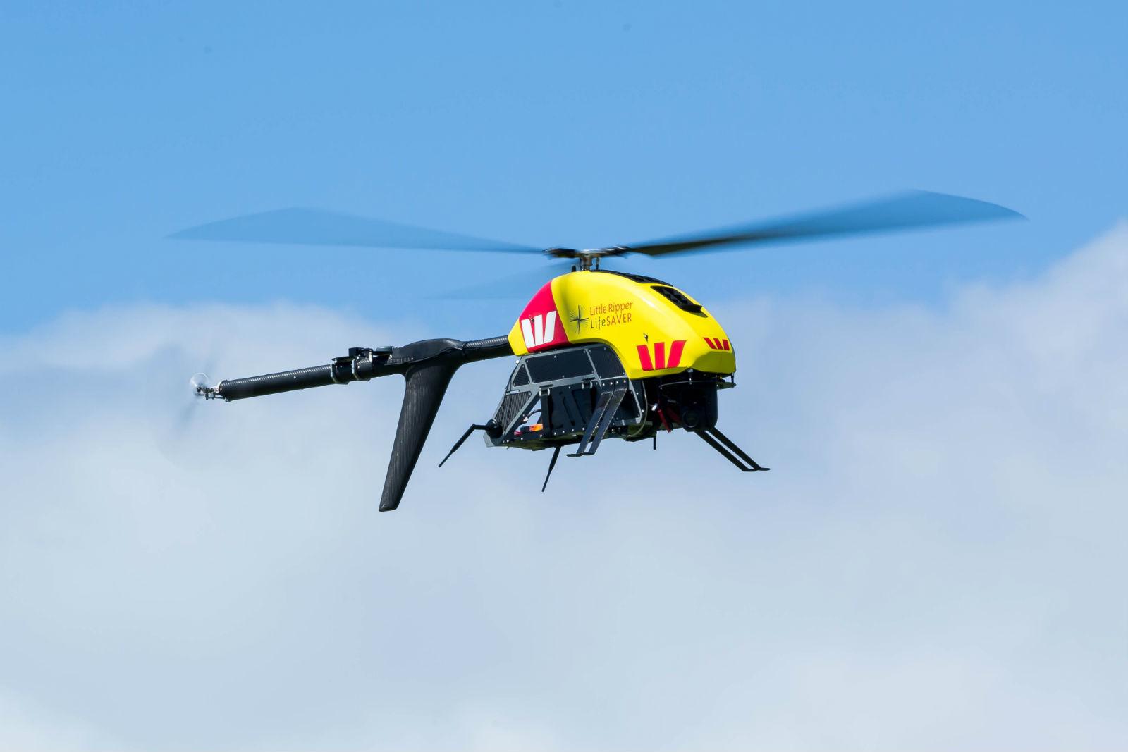 Il drone-bagnino salva la vita a due nuotatori
