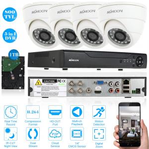 Su TomTop il sistema di video sorveglianza di KKmon è in offerta a soli 60 euro 1