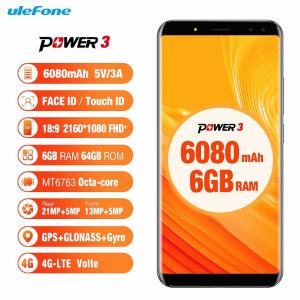 Ulefone Power 3 è in preordine su TomTop a 189 euro fino al 17 gennaio 1