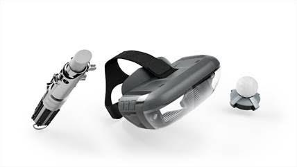 Lenovo Mirage con l'app Star Wars: Jedi Challenges approdano in Italia 1