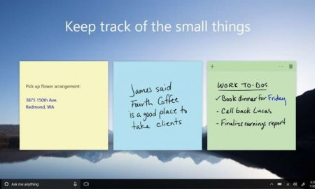 Windows 10 Sticky Notes 3.0