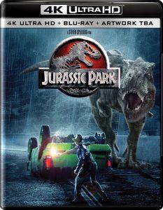 Jurassic Park: la tetralogia in arrivo in versione Ultra HD Blu-ray 1