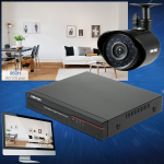 Rendete più sicura la vostra casa con il kit di videosorveglianza di OWSOO in vendita su TomTop 1