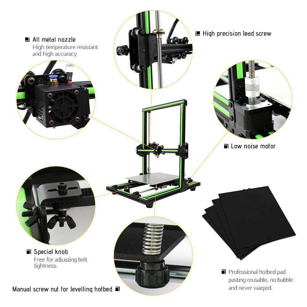 Da TomTop la stampante 3D Anet E10 costa 280 euro, con microSD in regalo 2