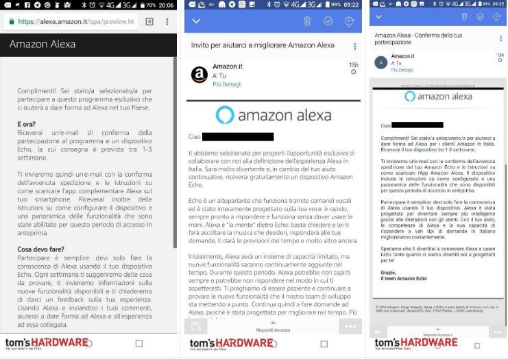 Alexa pronta ad arrivare in Italia: avviati i primi beta test 1
