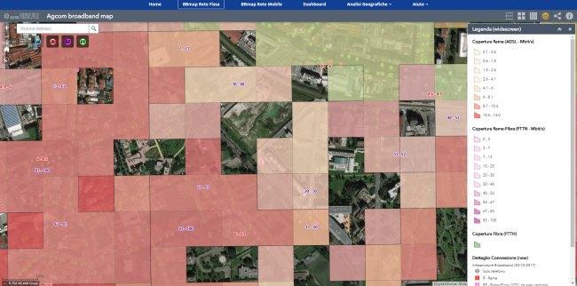 La fibra ottica in Italia? Eccovi numeri e copertura grazie alla Broadband Map 1