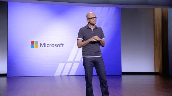 Microsoft Satya Nadella