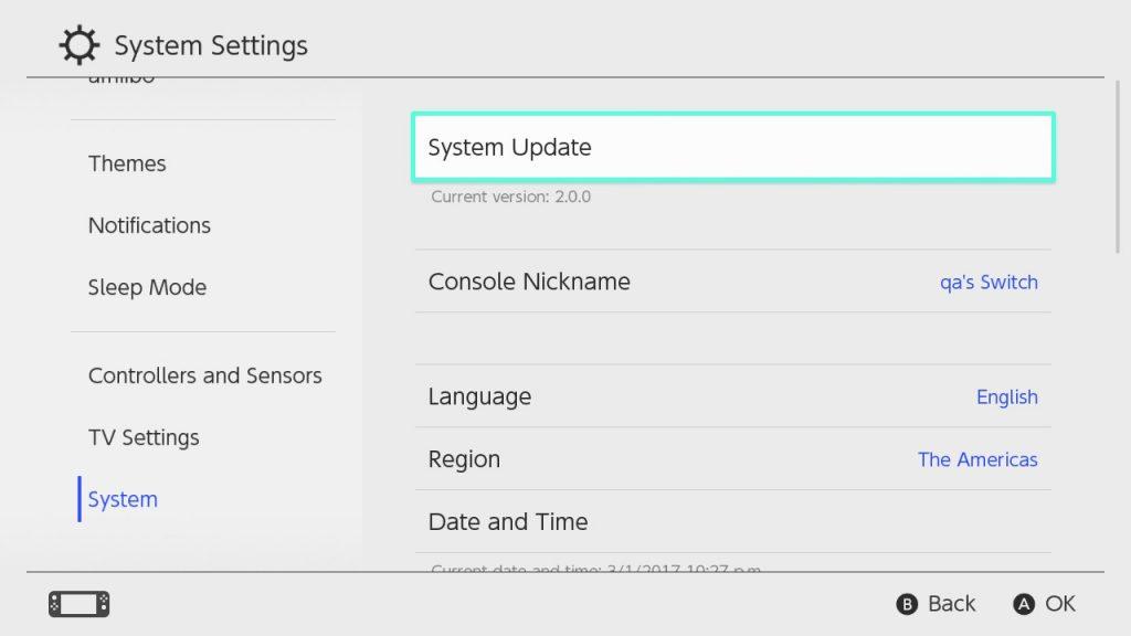 Nintendo Switch, in rilascio l'aggiornamento 5.1.0 1