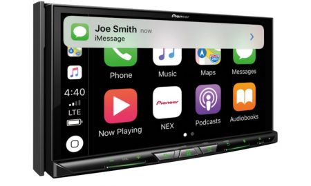 Pioneer Apple CarPlay wireless