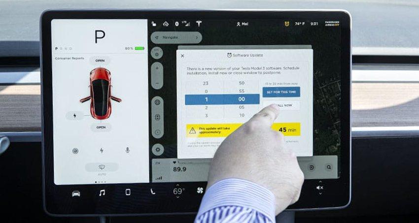 Tesla Model 3, l'ultimo aggiornamento migliora le performance in frenata 1