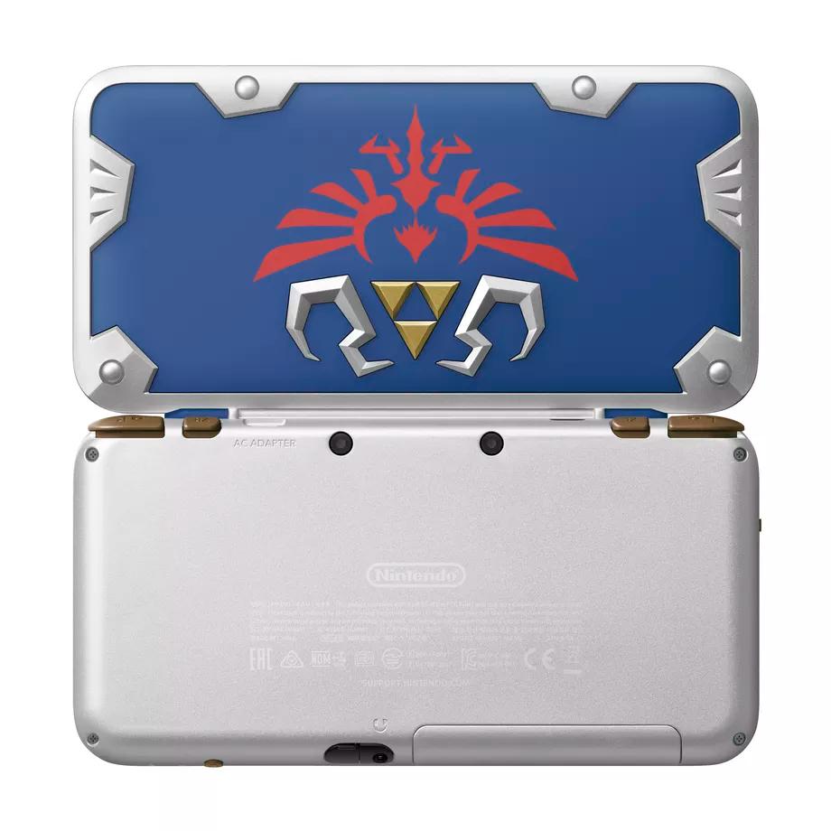 Nintendo 2DS XL Hylian Shield Edition arriverà il 2 luglio 1