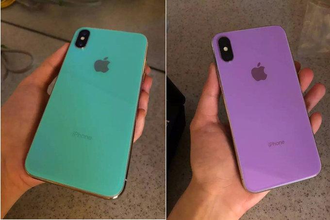 iPhone X nuove colorazioni