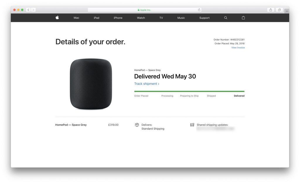 La pagina degli ordini dell'Apple Store Online ora ha un look più moderno 1