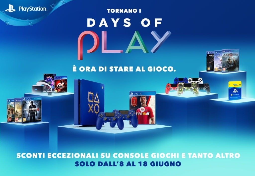 Days of Play e sconti pre-E3 disponibili per PS4 e Xbox One 1