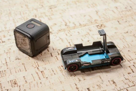 Hot Wheels, i modellini si arricchiscono dell'aggancio per una GoPro 1