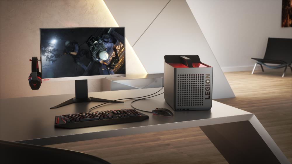 Lenovo presenta all'E3 2018 la nuova gamma di PC da gaming Lenovo Legion 3