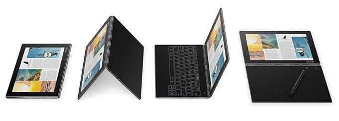 Lenovo prepara un nuovo Yoga Book 2 Pro, 2-in-1 con tastiera holo 1