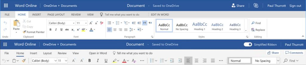 Microsoft Office, parte da oggi il rilascio della nuova UI 1