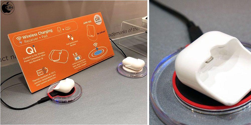 Ortek caricabatteria wireless AirPods
