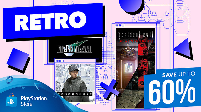 PlayStation Store sconti retro