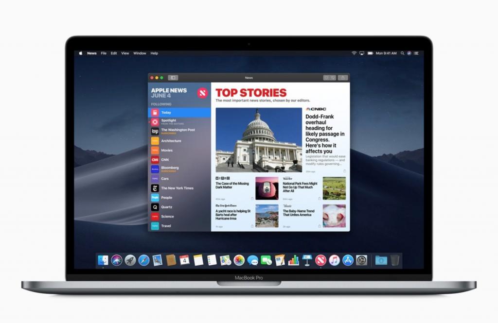 MacOS 10.14 Mojave è ufficiale: Dark Mode, Apple News e molto altro 4