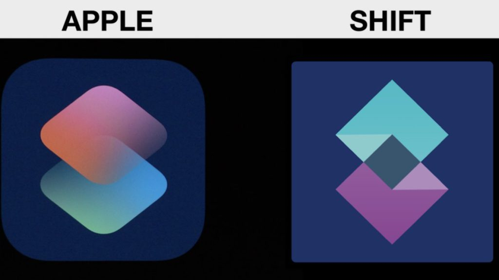 Siri Shortcut logo copiato