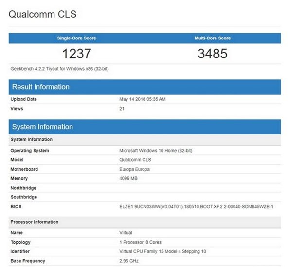 HP Chimera 2 sarà il primo Windows 10 on ARM con Snapdragon 850? 1