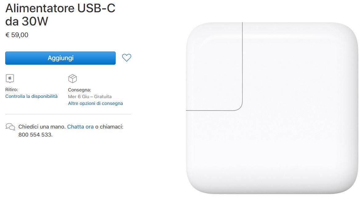 Apple lancia il nuovo alimentatore USB-C e altri colori per custodie in silicone, cinturini per Apple Watch e cuffie 1