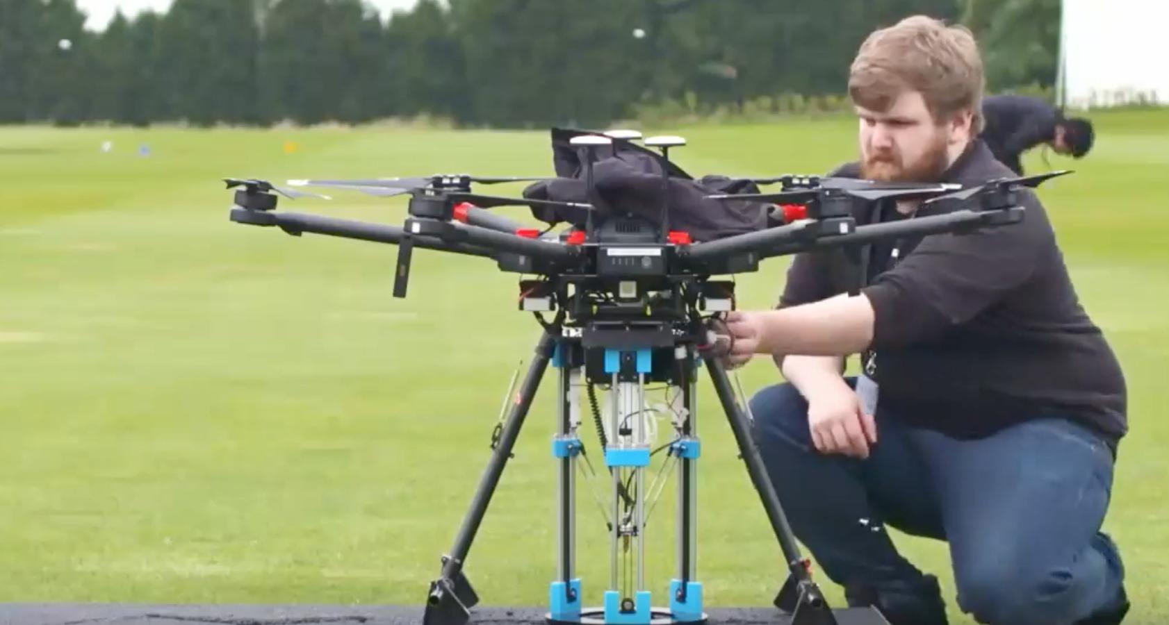 drone asfaltatore