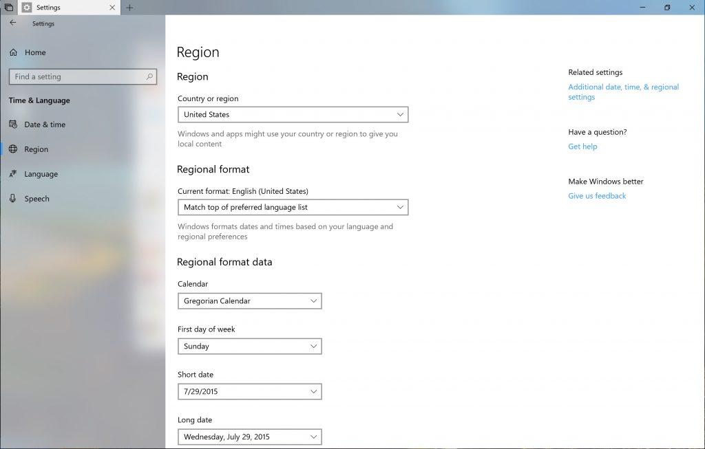 Windows 10 build 17686 Insider Preview migliora la localizzazione, la privacy e la realtà mista 1