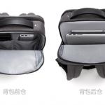 Xiaomi lancia uno zaino impermeabile con borsa separabile per documenti e accessori 1