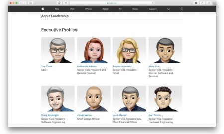 Apple dirigenti Memoji World Emoji Day